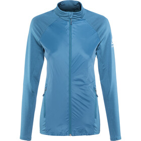 Odlo Velocity Element Light Jacket Dame poseidon-blue jewel